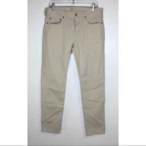 J Crew khaki jeans slim fit